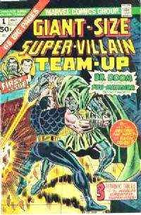 Comic: SUPER-VILLAIN TEAM-UP #.1 GIANT-Size First Issue [#b] (1975) Baseball cards value