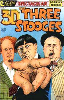 Comic: 3D THREE STOOGES #1 (with 3D Glasses!) (Eclipse) Baseball cards value