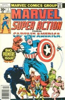 Comic: MARVEL SUPER ACTION #1 Premier ISSUE (1977) Baseball cards value