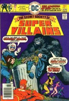Comic: SUPER VILLAINS #1 Premier Issue (1976) Baseball cards value