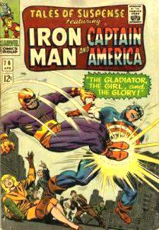Comic:  TALES OF SUSPENSE #76 Featuring IRON MAN & CAPTAIN AMERICA Baseball cards value