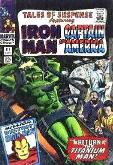 Comic:  TALES OF SUSPENSE #81 Featuring IRON MAN & CAPTAIN AMERICA Baseball cards value
