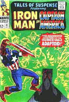 Comic:  TALES OF SUSPENSE #82 Featuring IRON MAN & CAPTAIN AMERICA Baseball cards value