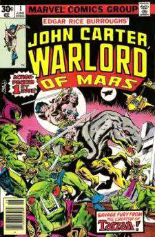 Comic: John Carter Warlord of Mars KING SIZE ANNUAL #1 (1977) Baseball cards value
