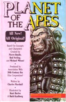 Comic: PLANET of the APES #1 (1990,Adventure) Baseball cards value