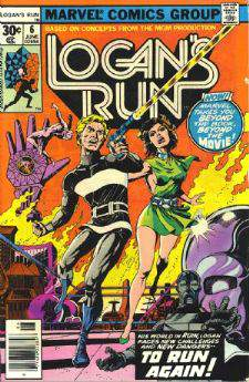 Comic: LOGAN'S RUN #.6 (1977) Baseball cards value