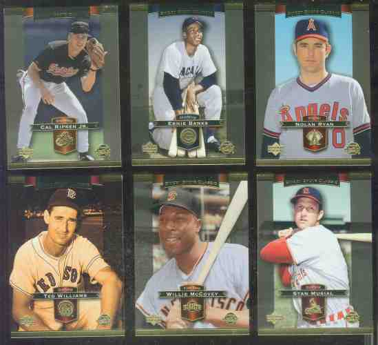 2003 Upper Deck SWEET SPOT CLASSICS - COMPLETE 89-card base SET Baseball cards value