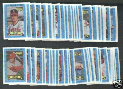 1974 Kellogg's - COMPLETE SET (54 cards) Baseball cards value