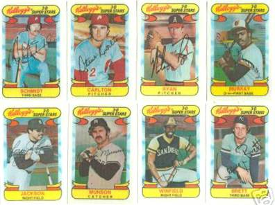 1978 Kellogg's - COMPLETE SET (57 cards) Baseball cards value