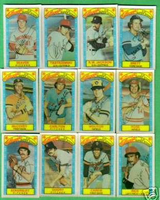 1979 Kellogg's - COMPLETE SET (60 cards) Baseball cards value