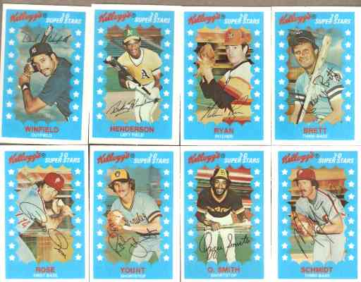 1982 Kellogg's - COMPLETE SET (64 cards) Baseball cards value