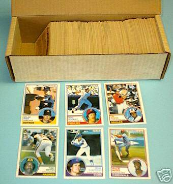 1983 OPC/O-Pee-Chee - COMPLETE SET (396 cards) Baseball cards value