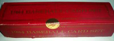 1984 Topps TIFFANY - COMPLETE FACTORY SET (792 cards) Baseball cards value