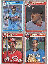 1985 Fleer - COMPLETE SET (660 cards) Baseball cards value