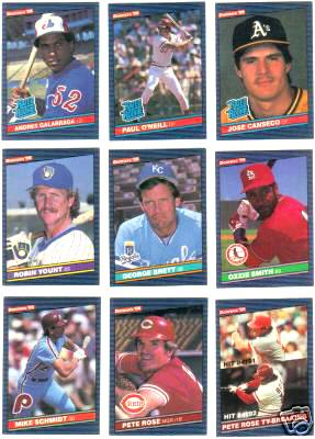 1986 Donruss - COMPLETE SET (660 cards) Baseball cards value