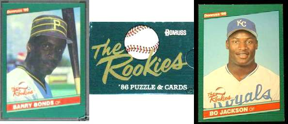1986 Donruss 'The ROOKIES' - in FACTORY SET BOX (56 cards,mostly Rookies) Baseball cards value