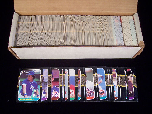 1987 Donruss - FACTORY SET (660 cards) Baseball cards value