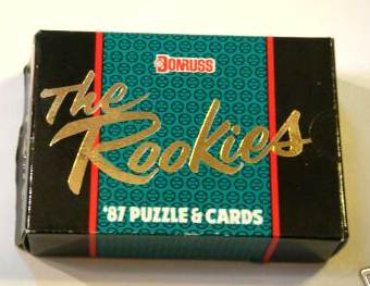 1987 Donruss 'The ROOKIES' FACTORY SET (56 cards, mostly all Rookies) Baseball cards value