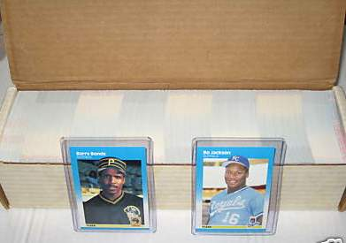 1987 Fleer - COMPLETE FACTORY SET (660 cards,opened) Baseball cards value