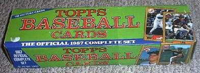 1987 Topps - FACTORY SET (792 cards) Baseball cards value