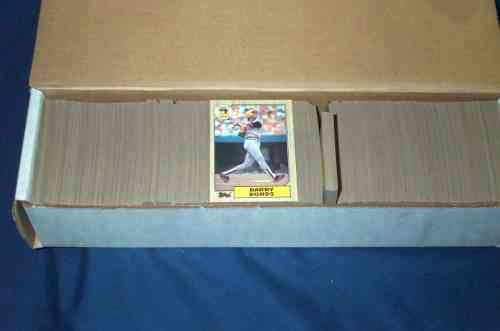 1987 Topps - COMPLETE SET (NM/MINT) (792 cards) Baseball cards value