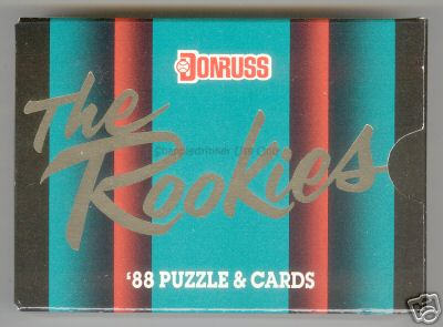 1988 Donruss 'The ROOKIES' FACTORY SET  - Lot of (5) SETS !!! Baseball cards value
