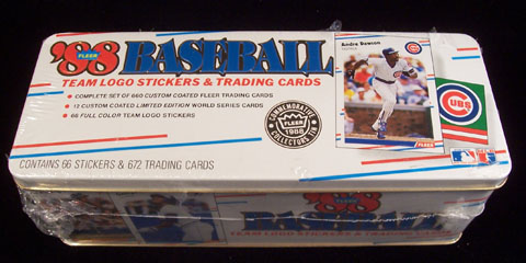 1988 Fleer GLOSSY - COMPLETE SET (672 cards) Baseball cards value