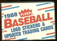 1988 Fleer UPDATE - SEALED FACTORY SET (132 cards) Baseball cards value
