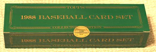 1988 Topps TIFFANY - COMPLETE FACTORY SET (792 cards) Baseball cards value