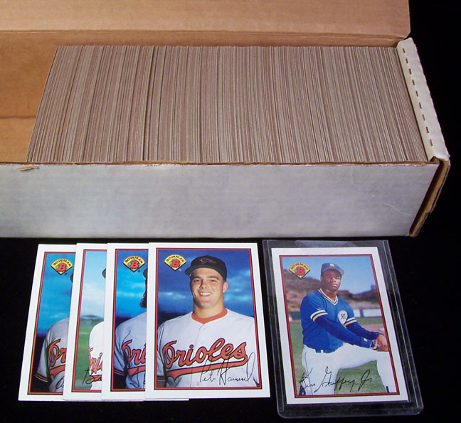 1989 Bowman - FACTORY SET (484 cards) Baseball cards value