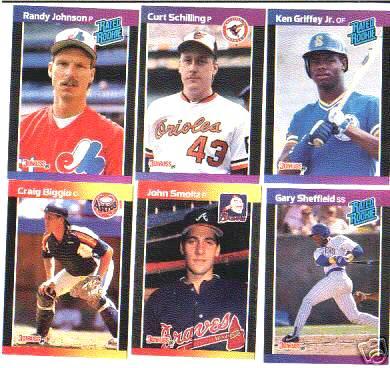 1989 Donruss - COMPLETE SET (660 cards) Baseball cards value