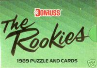 1989 Donruss 'The ROOKIES' Complete SET (56 cards, mostly all Rookies) Baseball cards value