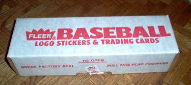 1989 Fleer - FACTORY SET (660 cards) Baseball cards value