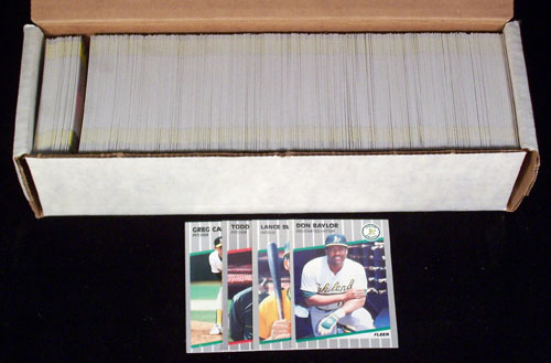 1989 Fleer - COMPLETE SET (660 cards) Baseball cards value