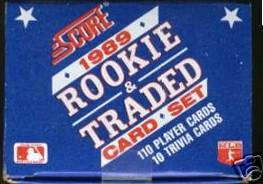 1989 Score ROOKIE & TRADED - COMPLETE FACTORY SET (110 cards) Baseball cards value