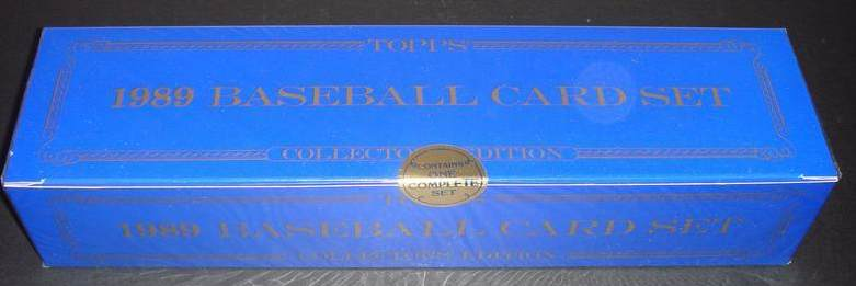 1989 Topps TIFFANY - COMPLETE FACTORY SET (792 cards) Baseball cards value