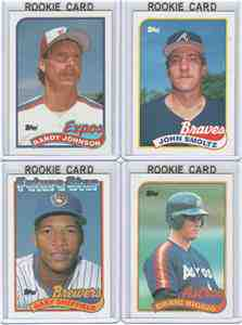 1989 topps complete set nm mint 792 cards baseball cards value