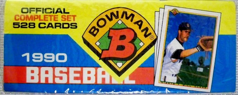 1990 Bowman - COMPLETE SET (528 cards) Baseball cards value