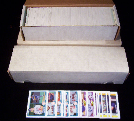 1990 Fleer - COMPLETE SET (660 cards) Baseball cards value