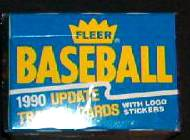 1990 Fleer UPDATE - SEALED FACTORY SET (132 cards) Baseball cards value