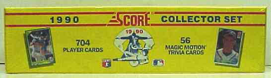 1990 Score - FACTORY SET (704 cards) Baseball cards value
