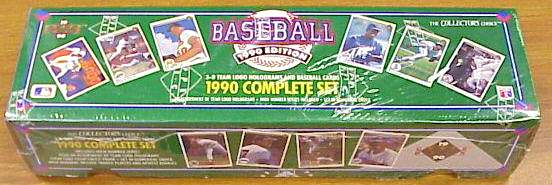 1990 Upper Deck - SEALED FACTORY SET (800 cards) Baseball cards value