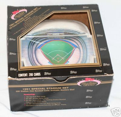 1991 Stadium Club Dome - FACTORY SET (200 cards w/100 Draft Picks & more) Baseball cards value