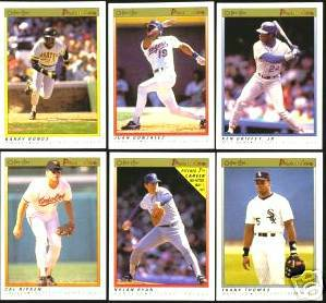 1991 OPC/O-Pee-Chee PREMIER - Complete SET (132 cards) Baseball cards value
