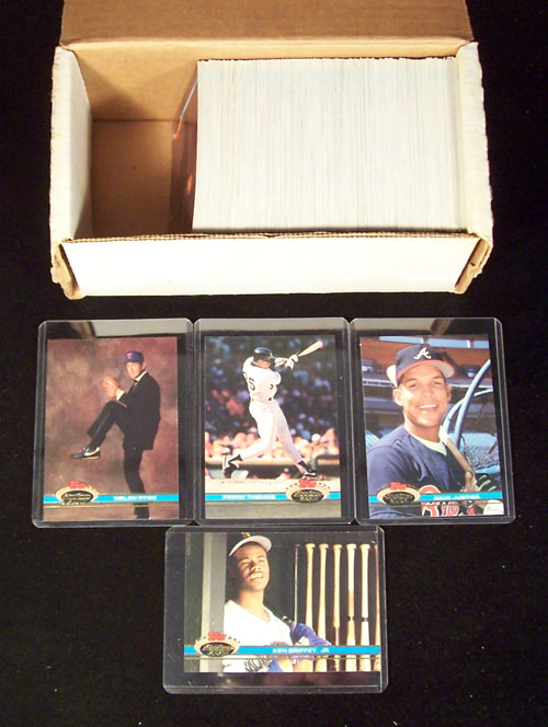 1991 Stadium Club - COMPLETE SET  Series 1 (300 cards) Baseball cards value