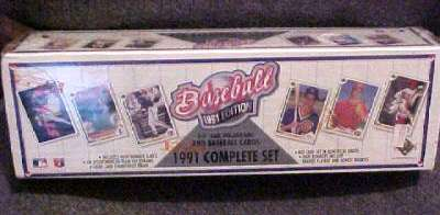1991 Upper Deck - FACTORY SET (800 cards) Baseball cards value