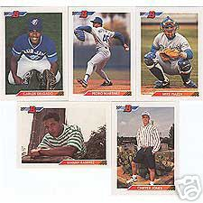 1992 Bowman - COMPLETE SET (705 cards) Baseball cards value