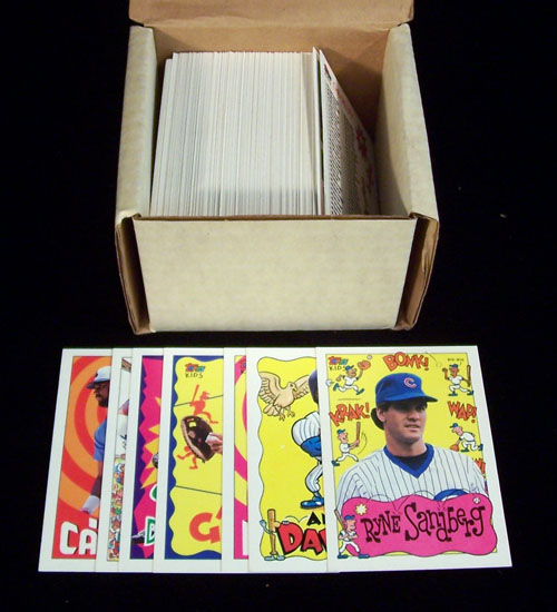 1992 Topps 'KIDS' - COMPLETE SET (132 cards) Baseball cards value