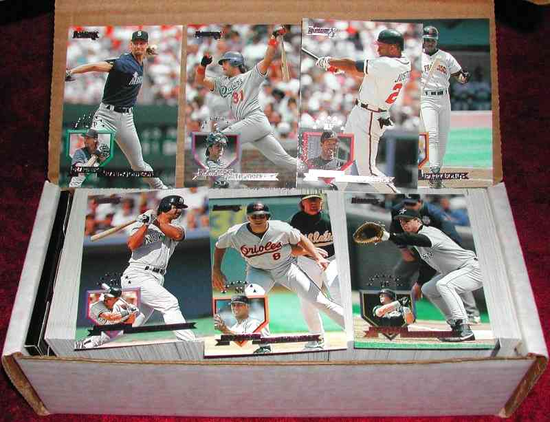 1995 Donruss - COMPLETE SET (550 cards,Series 1+2) Baseball cards value
