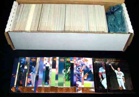 1996 Upper Deck - COMPLETE SET (480 cards) Baseball cards value